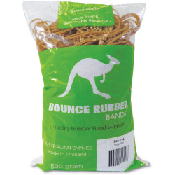BOUNCE RUBBER BANDS® SIZE 14  500GM BAG
