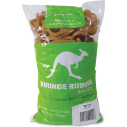 BOUNCE RUBBER BANDS® SIZE 63  500GM BAG