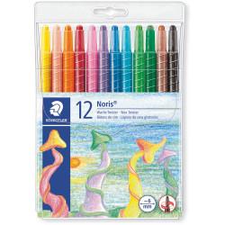 Staedtler Noris Wax Twister Crayons Assorted Wallet of 12