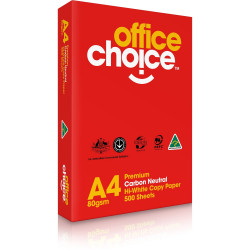 OFFICE CHOICE COPY PAPER 80GSM A4 PREMIUM 500 Sheets Ream