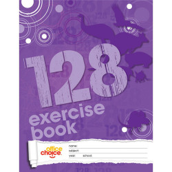 OFFICE CHOICE EXERCISE BOOK 225mm x 175mm 128 Page