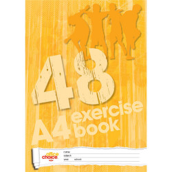 OFFICE CHOICE EXERCISE BOOK A4 48 Page