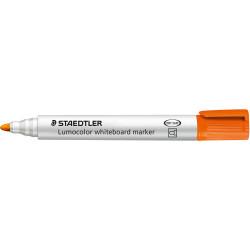 STAEDTLER WHITEBOARD MARKER 351 Bullet Orange Box of 10