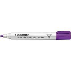 Staedtler 351 Lumocolor Whiteboard Marker Bullet 2mm Violet Box of 10