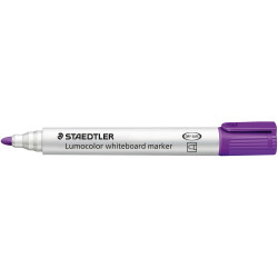 STAEDTLER WHITEBOARD MARKER 351 Bullet Purple Box of 10