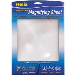 Helix A4 Magnifying Sheet 210x280mm