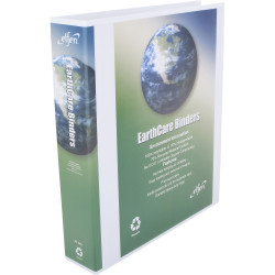 Cumberland Earthcare Insert Binder A4 3D Ring 40mm 70% Recycled White