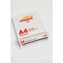 Office Choice Sheet Protectors A4 Heavy Duty Copy safe Box Of 100