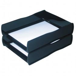 Esselte Nouveau Document Tray Black